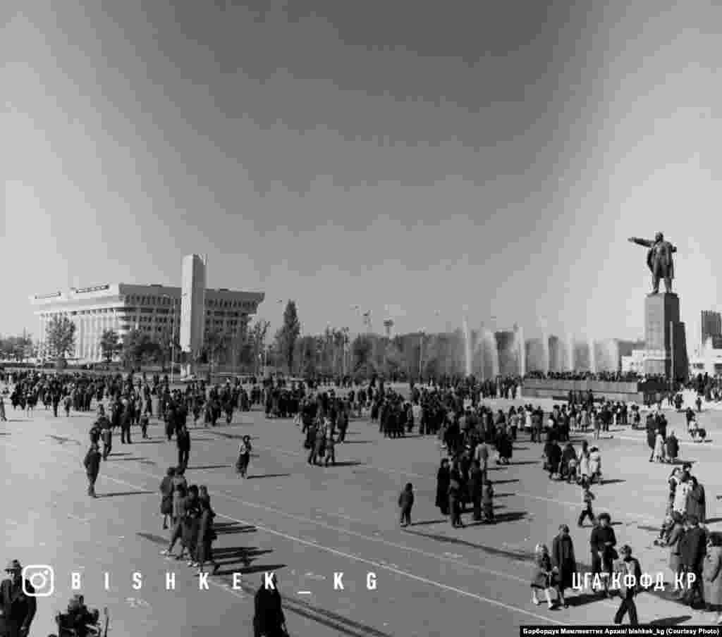 Ала-Тоо аянты. 1984-жыл.