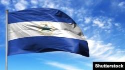 Флаг Никарагуа, иллюстрационное фото