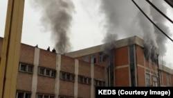Shpërthimi në trafon elektrike në Trepçë