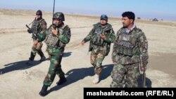 آرشیف، نیروهای امنیتی افغانستان در پکتیکا