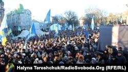 Львівський Євромайдан, 8 грудня 2013 року
