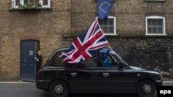 Մեծ Բրիտանիա - Լոնդոնի կենտրոնական փողոցներից մեկում, 24-ը հունիսի, 2016թ․