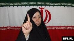 Iranian Voter In Basra, Iraq