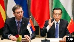 Aleksandar Vučić i Li Kećijang