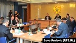Sjednica skupštinskog Odboraza nadzor istraga napada na crnogorske novinare i medije