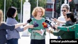 Вицепремиерката и министерка за одбрана Радмила Шекеринска