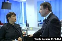 Igor Munteanu, director IDIS Viitorul, Liliana Barbăroșie, Chișinău, 2 martie 2017