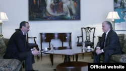 Հայաստանի և Լեռնային Ղարաբաղի ԱԳ նախարարները հանդիպում են Երևանում, արխիվ