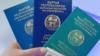 Кыргызстандын жарандык, кызматтык жана дипломатиялык паспорттору.