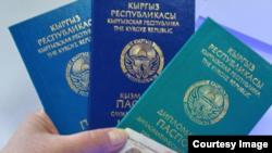 Кыргыз паспорттору.