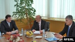 Milorad Dodik, Sulejman Tihić i Dragan Čović na sastanku 27. marta 2009., Foto: Midhat Poturović