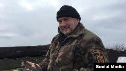 Олег Куцин, командир зведеної штурмової чоти «Карпатська січ» у складі 93-ї бригади