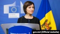Moldovan Prime Minister Maia Sandu