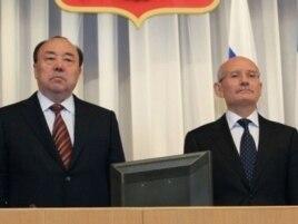 Мортаза Рәхимов (с) һәм Рөстәм Хәмитов
