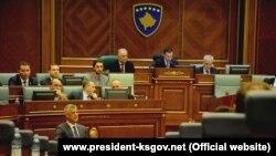 Deset poslanika može da traži preispitivanje odluke Skupštine (na fotografiji)