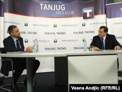Tv duel Čedomira Jovanovića i Milorada Dodika