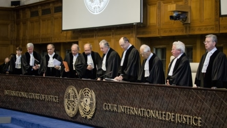 Tribunals such as the International Court of Justice can simply be ignored, unlike one set up by the UN Security Council.