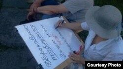 """""""Марш миллионов"""" в Омске 12 июня 2012 года"""