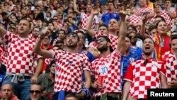 Хорватські вболівальники, архівне фото