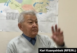 Директор филиала научно-исследовательского центра Межгосударственной координационной водохозяйственной комиссии Центральной Азии Нариман Кипшакбаев.