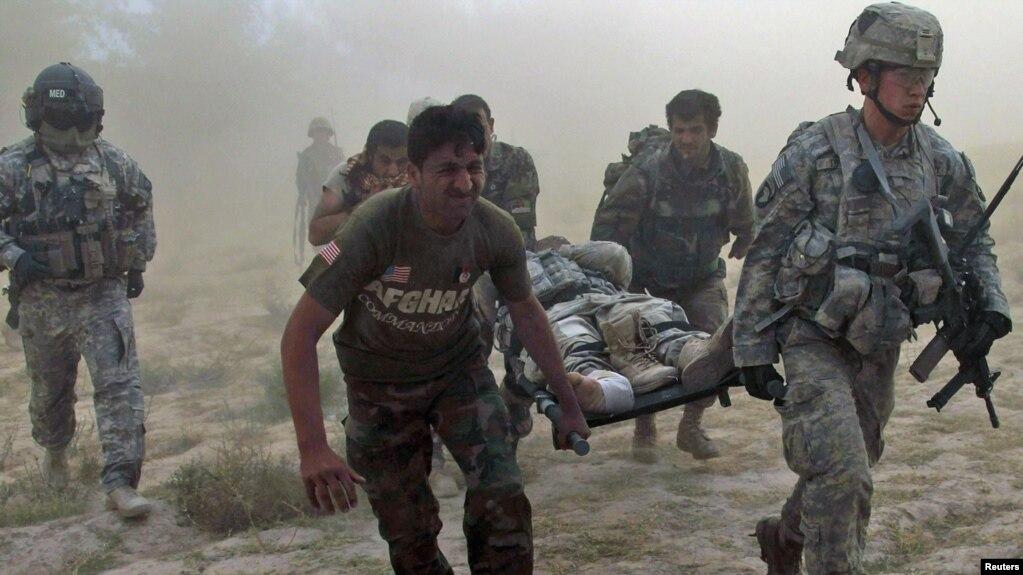 افغانستان کې د امریکا یو سرتېری وژل شوی او بل ټپي دی