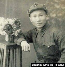 Красноармеец Сулунгу Оненко