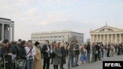 Акция оппозиции в Минске 30 марта