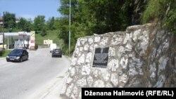 Spomen ploča, foto: Dženana Halimović