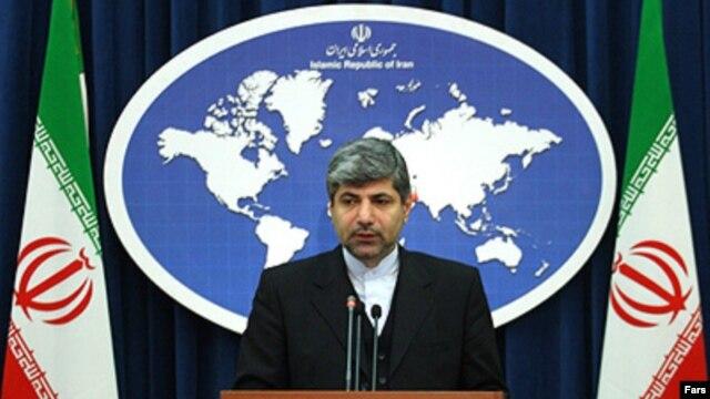 رامین مهمانپرست، سخنگوی وزارت خارجه ایران.