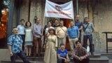 Көкжайлау шатқалының көрінісі. Алматы, 16 маусым 2019 жыл.