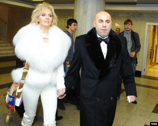 Валерія і Йосип Пригожин
