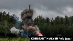 Причиною інциденту на військовому полігоні у Міноборони Росії назваливибух рідинного реактивного двигуна (фото ілюстративне)
