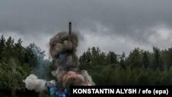 Pamje nga lansimi i mëparshëm i një rakete të Rusisë