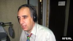 Бывший посол Израиля в студии РадиоАзадлыг, Баку, 5 июня 2009