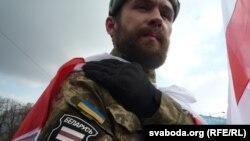 У дабраахвотніцкіх ўкраінскіх падразьдзяленьнях ваююць і беларусы.