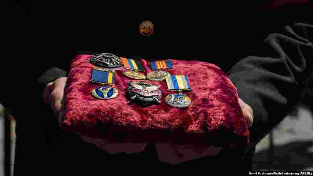 Військові нагороди одного із загиблих