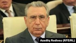 Ramiz Mehdiyev, prezidentin əmisi Cəlal Əliyevin yas mərasimində, 1 fevral 2016