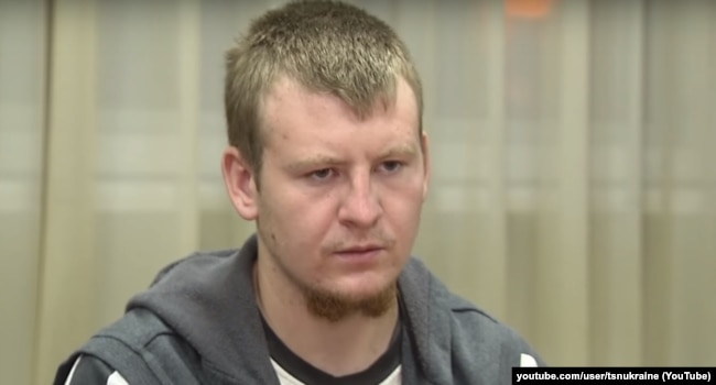 Российский ефрейтор Виктор Агеев