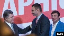 Petro Poroshenko dhe Vitali Klitschko
