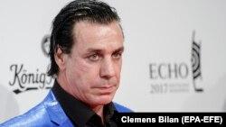 Лидер группы Rammstein, музыкант Тилль Линдеманн