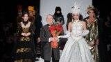 В'ячеслав Зайцев на показі мод в Москві у 2013 році