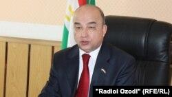 Председатель нижней палаты парламента Таджикистана Шукурджон Зухуров.