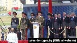 Ілюстрацыйнае фота. Аляксандар Лукашэнка на парадзе наДзень незалежнасьці 3ліпеня 2016 году ўМенску