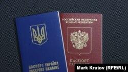Украинин а, Оьрсийчоьнан а паспорташ.