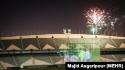 Tehran's Azadi stadium.