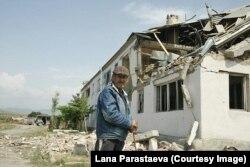 Разрушения в регионе Цхинвали