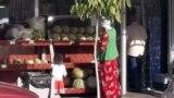 На ашхабадском базаре