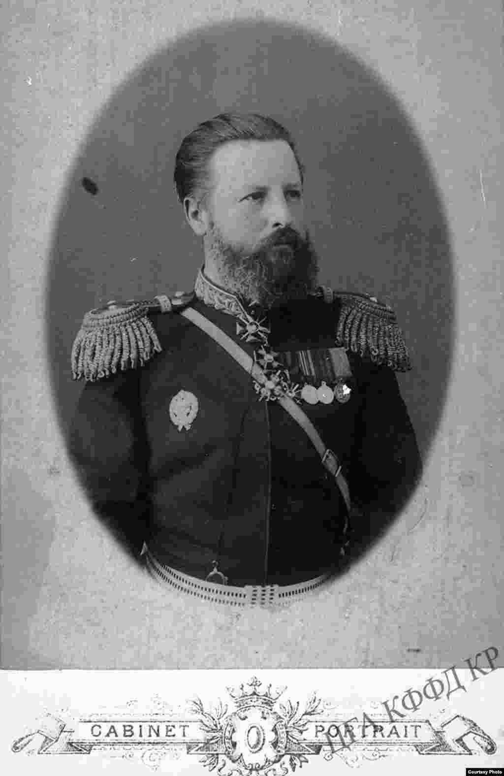 Жети-Суу облусунун аскер губернатору Г.И.Иванов.