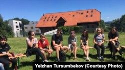 Встреча со школьниками по программе интеграции мигрантов. Кантон Фрибург, Швейцария, лето 2018 года.