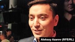 Назарбаевтың рөлін ойнаған актер Нұрлан Әлімжанов. Алматы, 12 желтоқсан 2013 жыл.